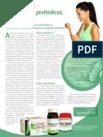 Suplementos Funcionais - Probióticos, prebióticos e o câncer