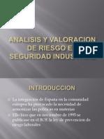 Analisis y Valoracion de Riesgo en Seguridad Industrial