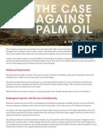Tha Case against Palm Oil