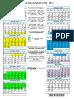 Discovery Ed Testing Calendar