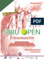 Afis Sibiu Open