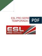 EPSX Spain Rulebook