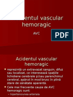 Accidentul Vascular Hemoragic