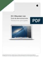 L517933A-ES OS X Mountain Lion Demo Guide Top Features L517933A-Es ES