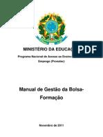 MANUAL Bolsa Formacao