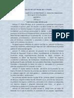 Proyecto de Ley 044 de 2011