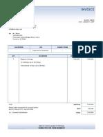 Invoice Dec