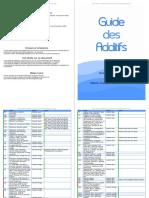 Guide Additif Tous Les Noms, Famille, Hallal