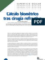 Calculo Biometrico Tras Cirugia Refractiva