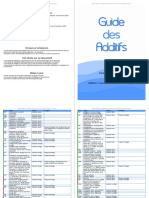 Guide Additif Tous Les Noms, Famille, Allergies
