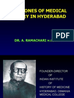 History of Health Care Development in Hyderabad, India