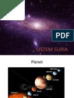 SISTEM SURIA ( Planet Yg Sesuai Utk Hidupan)