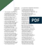 John Donne a Valediction Traduzione