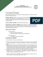 GUIA PARA LA  PRESENTACIÓN DE SOLICITUDES  DE DERECHOS DE APROVECHAMIENTO DE AGUAS