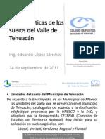 Caracteristicas de Los Suelos Del Valle de Tehuacan