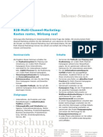 Seminardatenblatt B2B-Multi-Channel-Marketing