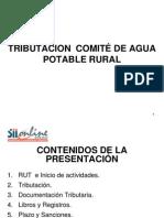 Capacitacion Tributacion Comite APR Aguas Araucania