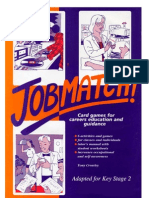 Junior Jobmatch! Card Games for Careers Education. Key Stage 2. Tony Crowley