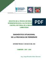 Diagnostico Situacional Provincia Ferrenafe