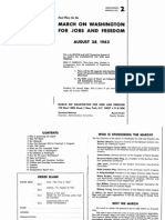 1963 March on Washington Manual