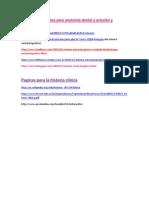 Paginas interesantes para anatomia dental y oclusión y PROTESIS