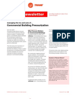 Building Pressurization