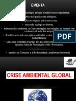 Aula 1 Crise Ambiental e Historico