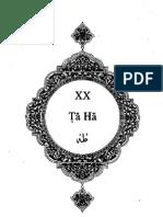 Sura Taha - English