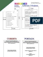 Estructura Documento Trabajos