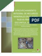 Manifiesto de Impacto Ambiental Ejido Francia 07CH2012MD042