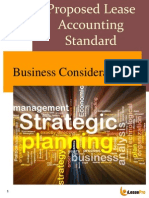 proposed lease accounting standard - business considerations august 2013
