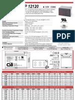 CSB GP 12120 (12-12AH)