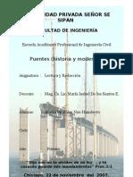 PUENTES (Historia y Modernidad)