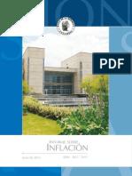 Informe de Inflacion Jun - 2013