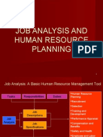Job Analysis & HR Planning