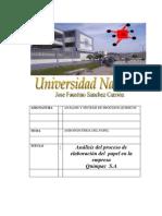 AgroIndustria Del Papel Informe Final (Reparado)