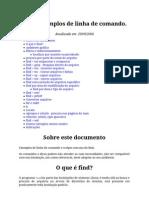 Comando Find Linux