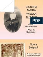Siostra Marta Wiecka