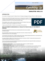 SEQ Catchments Aboriginal Catching Up Newsletter April 2013
