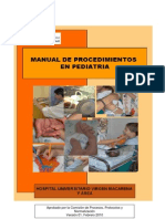 Manual de Procedimiento de Pediatria 2010