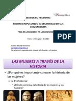 """""""ROL DE LAS MUJERES EN LAS COMUNIDADES"""""""
