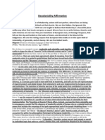Decoloniality 1AC - DDI 2013 KQ