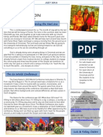 Ministry July 2013 Newsletter
