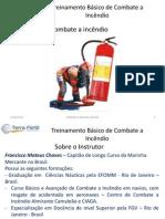 Treinamento Básico de Combate a Incêndio MTF1.0