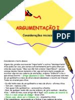Argumentação I