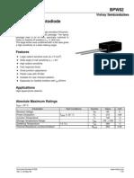 BPW82 Data Sheets