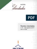 Revista Liberdades Maio Agosto 2011