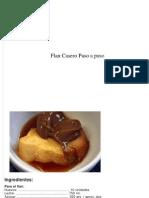 Flan Casero Paso a Paso