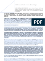 Ação Civil Pública na Comarca de Barra dos Coqueiros