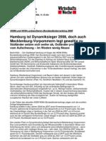 INSM und WiWo präsentieren Bundesländerranking 2008